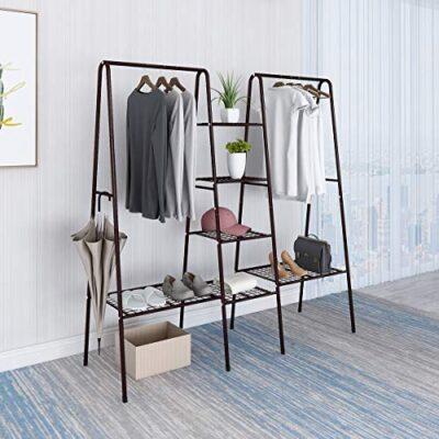 vintage clothes rail