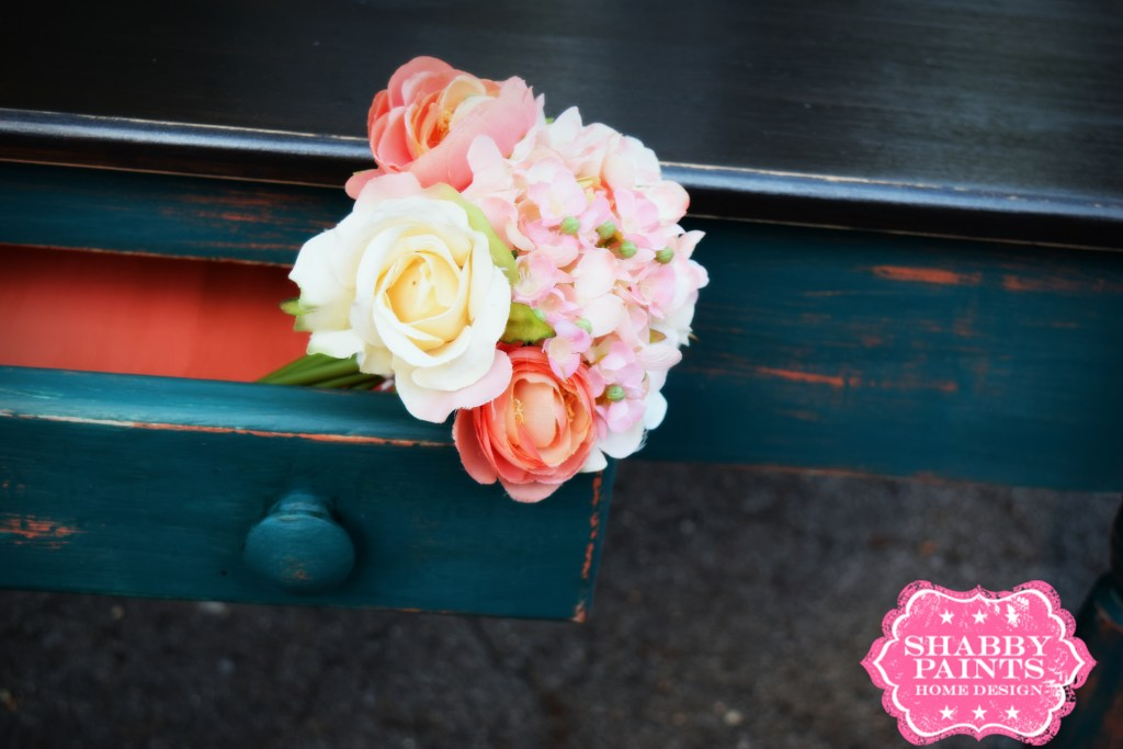 Layering Two Colors with Chalk Paint