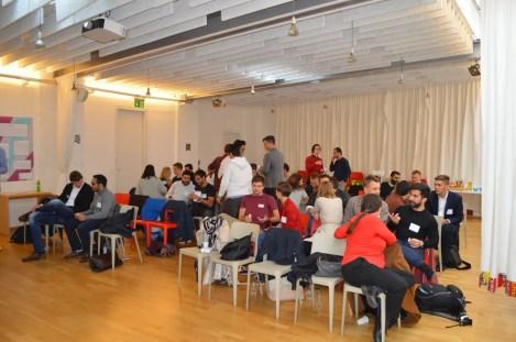 Das foraus Community Gathering Event in Wien. Bild: © foraus.