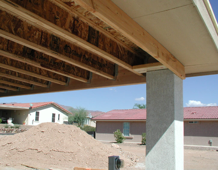 Build DIY Build wood awning over patio PDF Plans Wooden ...