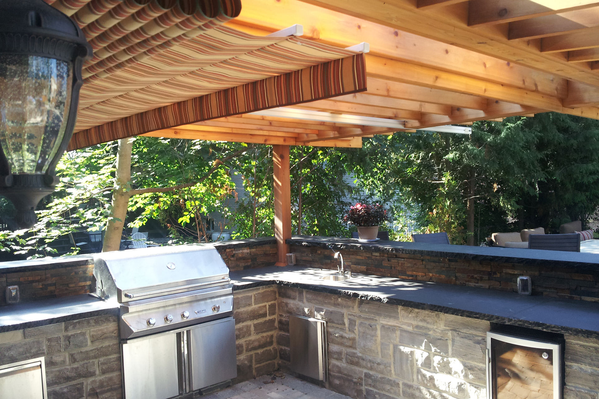 Protecting More Space With Cantilevered Canopies