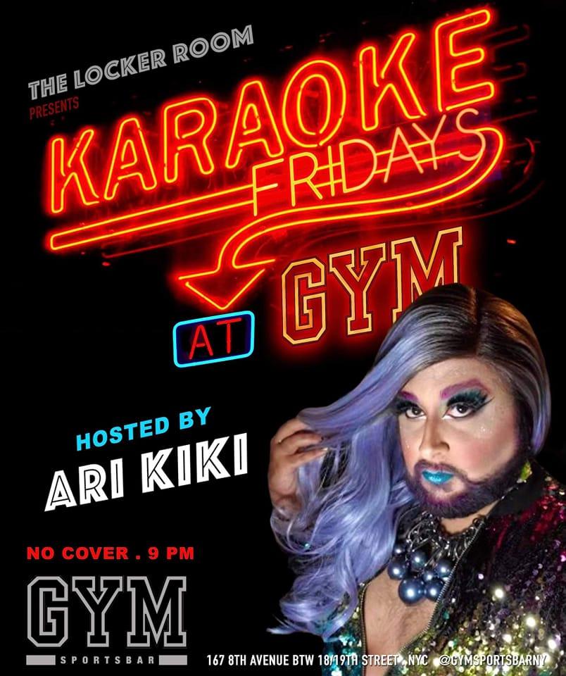 Karaoke Fridays @ GYM Bar NYC
