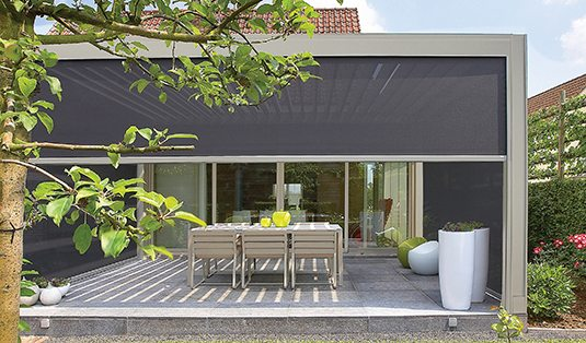 motorized outdoor shades for any