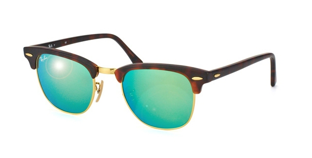 RAY-BAN MIRROR CLUBMASTER STYLES