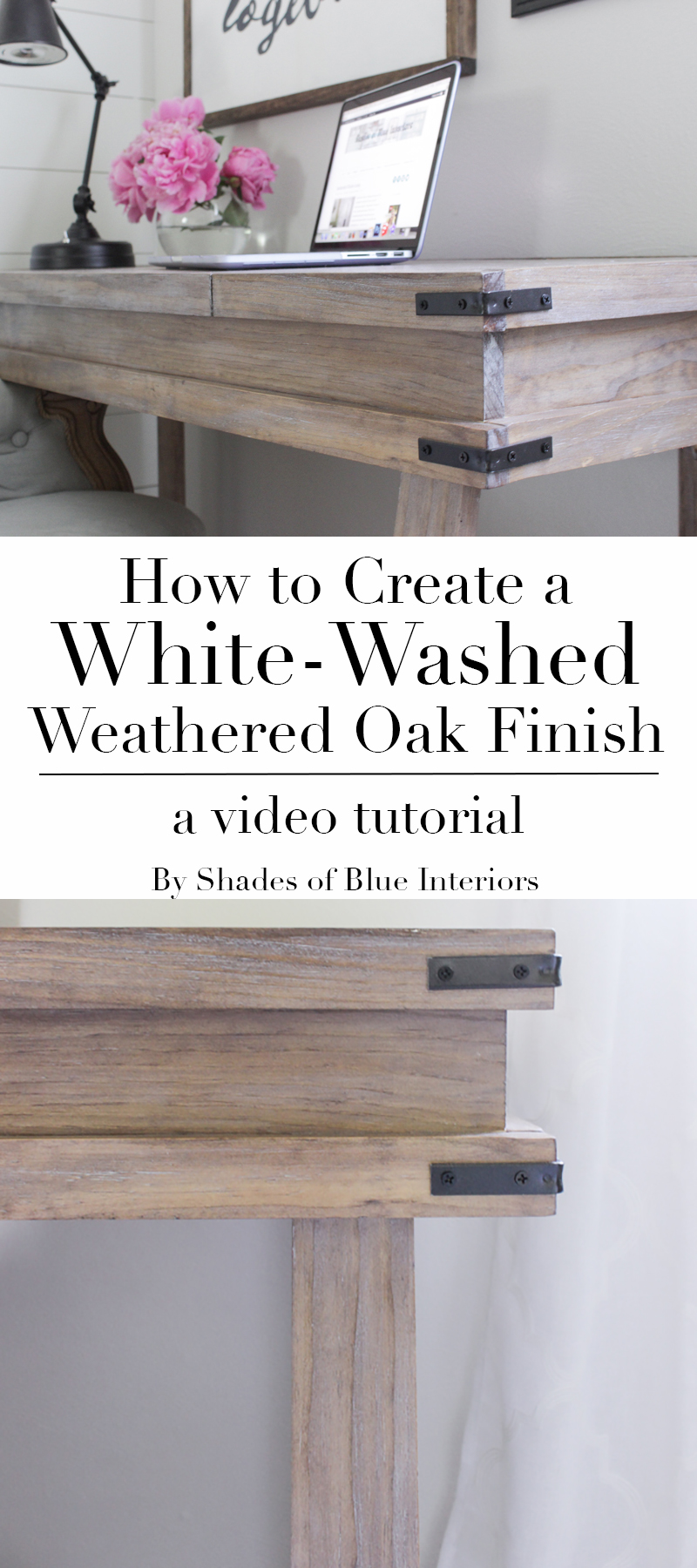 Creating A White Washed Weathered Oak Finish Video