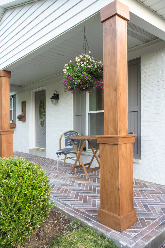 Diy Craftsman Style Porch Columns Shells Only We Do It