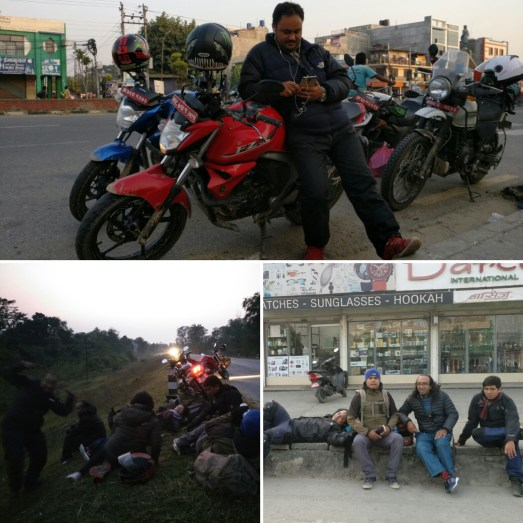 On our way to Bhalubang : First Stay of the night awaits