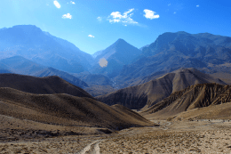 Highway to Lo Manthang