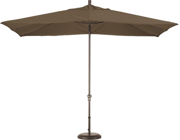 11 x 8 aluminum rectangular sunbrella a umbrella crank lift no tilt aluminum ribs