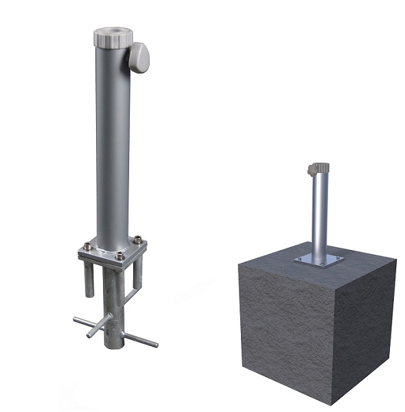 this item is now discontinued ground inserted patio umbrella base