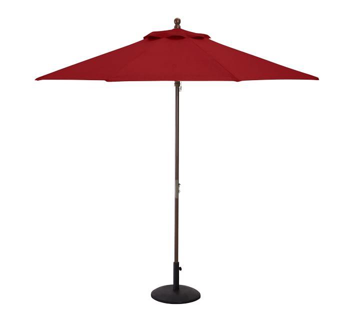 sunbrella patio umbrella made to order back order to fall of 2021