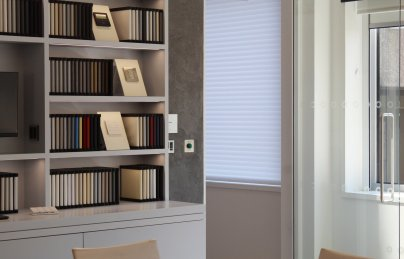 Lutron fabric samples library