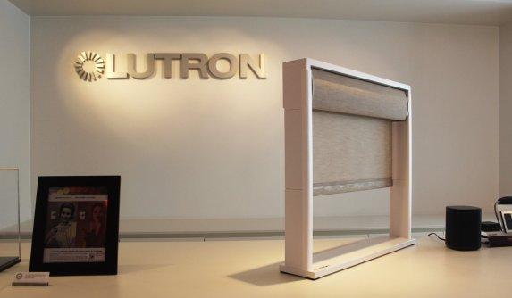 Lutron Window blind showcase