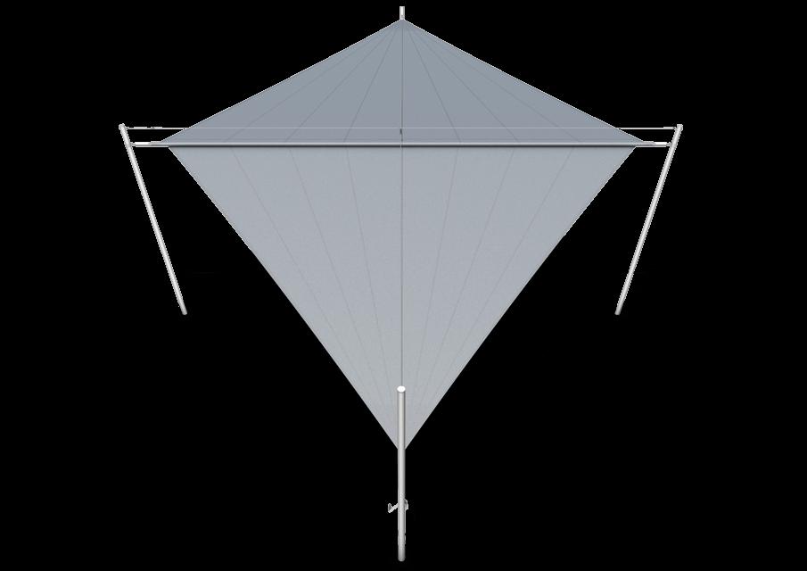 Soliday X straalvorm