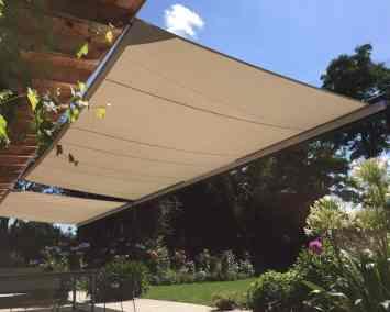 ShadowArt Soliday CS automatisch oprolbaar zonnezeil