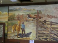 Italian & German POW's painted the murals