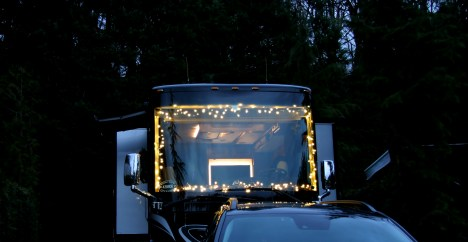 Where to put lights on an RV?
