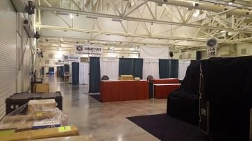 Vendor Hall prior to set up