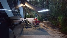 Nice secluded sites at North Beach Camp Resort