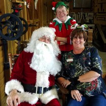Our AWESOME bosses Debra & Gudrun the Elf!!