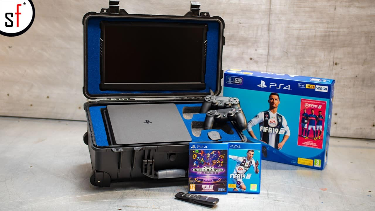 PS4 Console and Fifa 19 Game