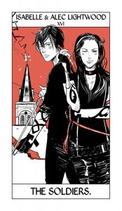Isabelle e Alec