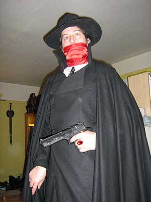 The Shadow Events Costume Diaries Luciano As The Shadow