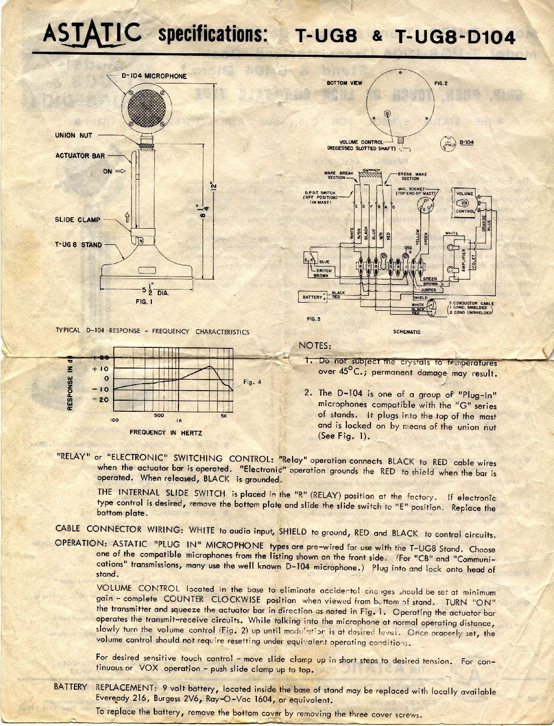 D 104 paperwork 1977 2 astatic mic wiring diagram dolgular com astatic 575 m6 wiring diagram at n-0.co