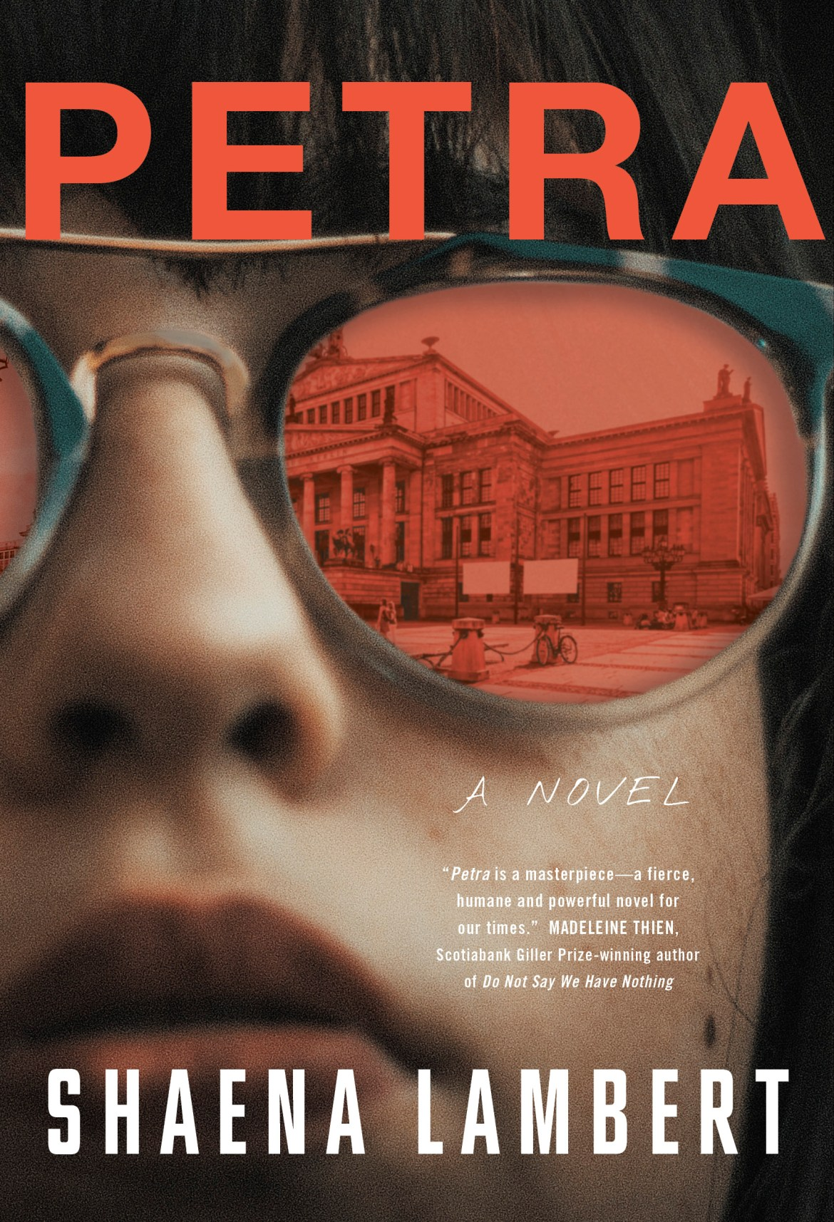 Petra, by Shaena Lambert book cover image