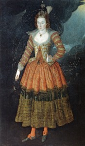John_de_Critz_Woman_in_Masque_Costume_as_a_Power_of_Juno