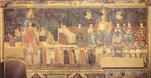 Ambrogio_Lorenzetti_Good_Government_virtues_1338-9