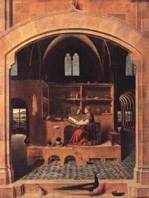 Antonello_St_Jerome_in_his_Study_1460