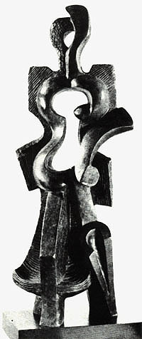 Archipenko_Woman_Walking_1912