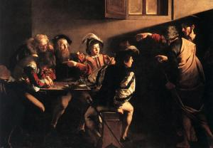 Caravaggio_The_Calling_of_St_Matthew_1599-1600