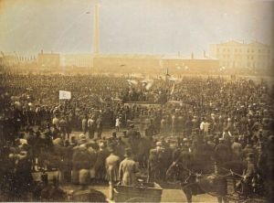 Chartist meeting Kennington Common 1848