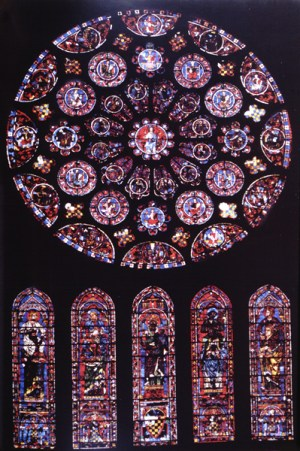 Chartres_Rose_window_South