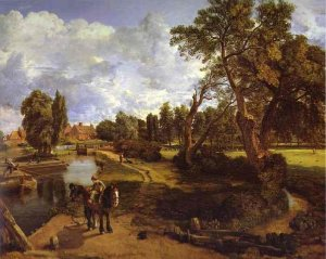 Constable_Flatford_Mill_1817
