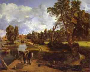 Constable_Flatford_Mill_Scene_of_a_Navigable_River_1816