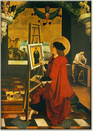 Deutsh_St_Luke_Painting_Virgin
