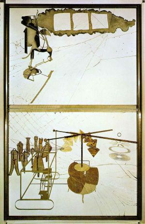 Duchamp_The_Bride_Stripped_Bare_By_Her_Bachelors_Even_1915-1923