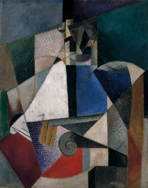 Gleizes_Portrait_of_an_Army_Doctor_1914-15