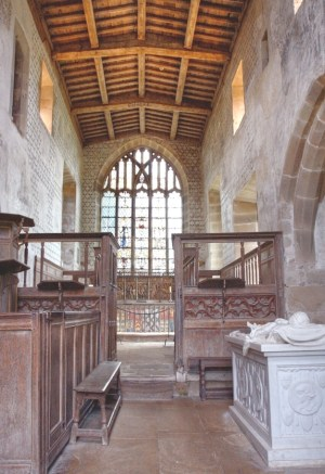 Haddon Hall chapel 15thC