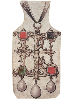 Holbein Design for Pendant jewel 1540-3