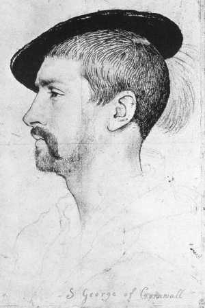 Holbein Simon George of Quocote 1536