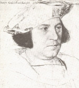Holbein Sir Henry Guildford 1527 drawing
