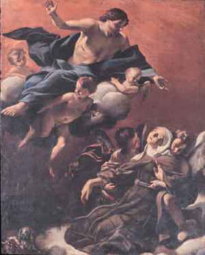 Lanfranco_Ecstasy_of_St_Margaret_of_Cortona_1621