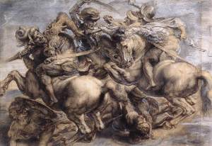 Leonardo_Battle_of_Anghiari_detail_1503-5