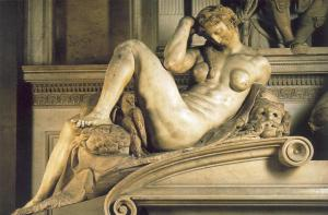 Michelangelo_Night_1526-33