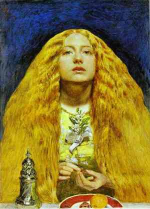 Millais The Bridesmaid 1851