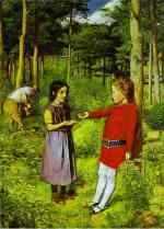 Millais The Woodmans Daughter 1851